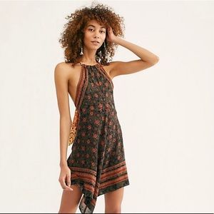 NWT FREE PEOPLE Make me yours mini dress Size L